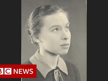 Battle of Britain: The schoolgirl who helped design the Spitfire - BBC News