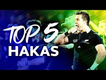 HAKA TIME | Top 5 Hakas from New Zealand in Rugby 🙌 1