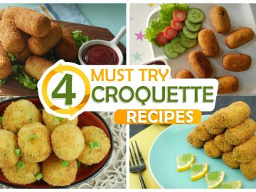 4 Must Try Croquette Recipes By Food Fusion