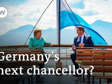 Merkel's visits Bavaria:  Is she meeting with her successor? | DW News