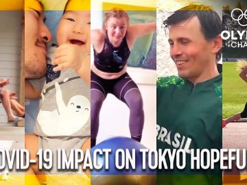 How has COVID-19 affected athletes' dreams of Tokyo 2020?