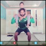 Pakistan Hockey Players workout during lockdown | Compilation 8