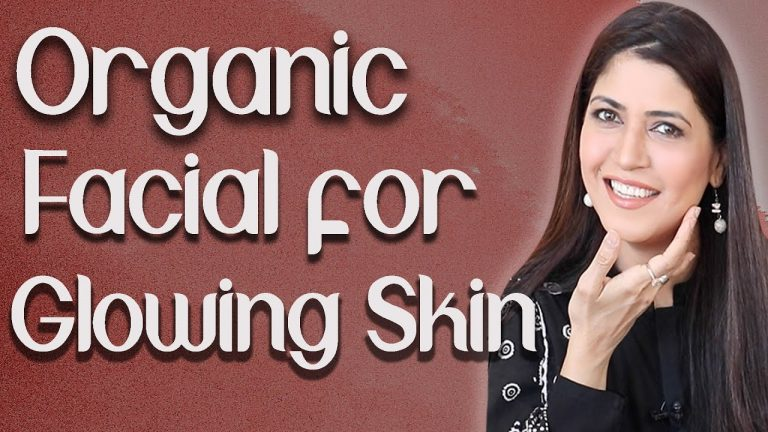 Organic Facial for Glowing Flawless Skin Step by Step at Home / Eid Special  - Ghazal Siddique