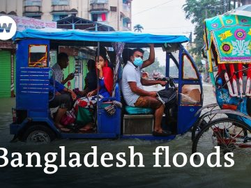 1/3 of Bangladesh flooded amid heaviest monsoon rains in years | DW News
