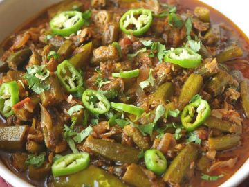 Restaurant style Masala Bhindi Recipe By Food Fusion
