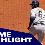 1000 IQ Play! Lorenzo Cain and Brewers sneak out of rundown with some tricky baserunning