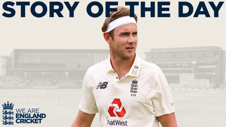 Broad Shines Again as England Eye Series Win! | England v West Indies 3rd Test Day 3 2020