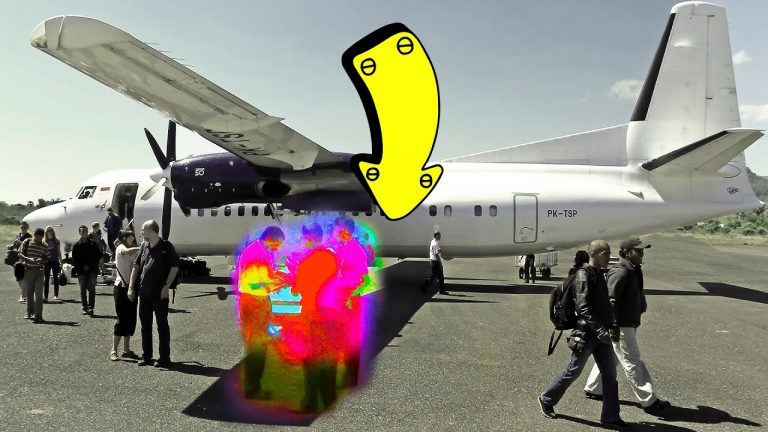 Don't Walk Under the Plane Wings, Here's Why