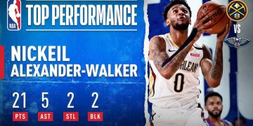 Nickeil Alexander-Walker Drops 21 PTS, 5 AST, 2 STL & 2 BLK To Lead Pelicans