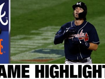Dansby Swanson leads Braves in 14-1 rout of Mets | Braves-Mets Game Highlights 7/26/20