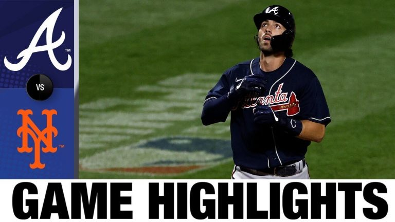 Dansby Swanson leads Braves in 14-1 rout of Mets   Braves-Mets Game Highlights 7/26/20