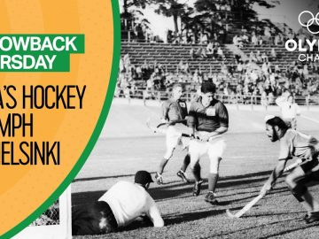 Balbir Singh Sr. guides India to glory at Helsinki 1952 | Throwback Thursday
