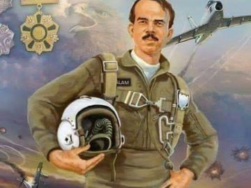 Nation remembers 1965 war hero MM Alam on his 7th death 10