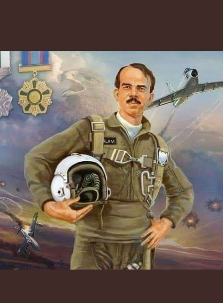 Nation remembers 1965 war hero MM Alam on his 7th death 1