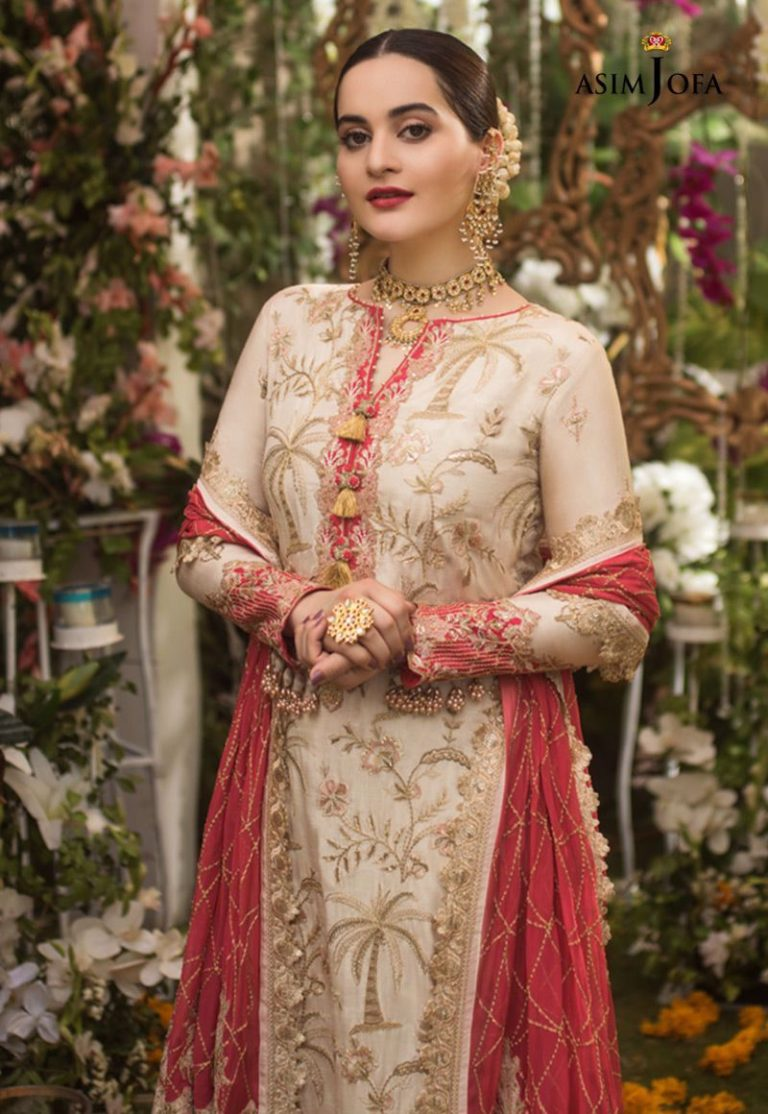 Aiman Khan Latest Beautiful Photo Shoot for Asim Jofa 1