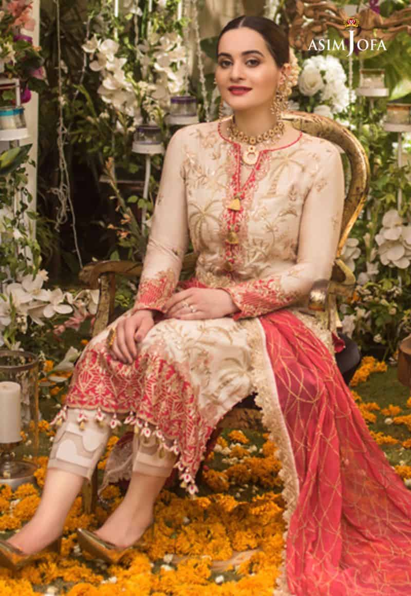 Aiman Khan Latest Beautiful Photo Shoot for Asim Jofa 6