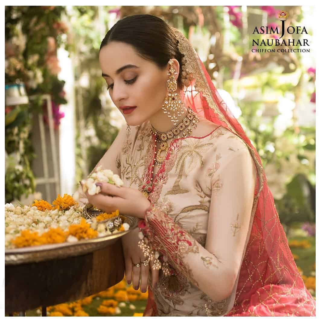 Aiman Khan Latest Beautiful Photo Shoot for Asim Jofa 5
