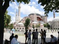 Turkey reconverts Istanbul's Hagia Sophia museum into a mosque 15