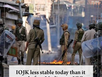 #IOJK less stable today than it was before #Modi govt: ICG  Read more:   #TheNew... 1