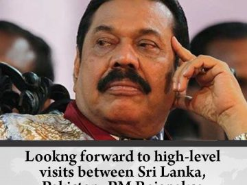 Lookng forward to high-level visits between #SriLanka, #Pakistan: PM Rajapaksa  ... 6
