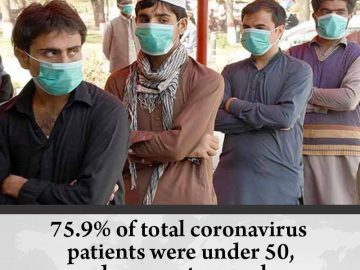 75.9% of total #coronavirus patients were under 50, documents reveal  Details:  ... 2