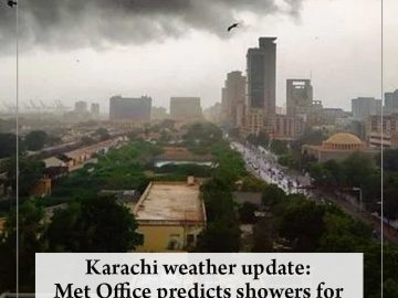 After three days of heavy downpour in the port city, the Met Office has predicte... 3
