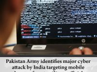 #PakistanArmy identifies major cyber attack by India targeting mobile phones of ... 27