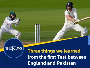 Three things we learned from the first Test between #England and #Pakistan  Deta... 2