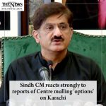 #SindhCM reacts strongly to reports of Centre mulling 'options' on #Karachi Rea... 1