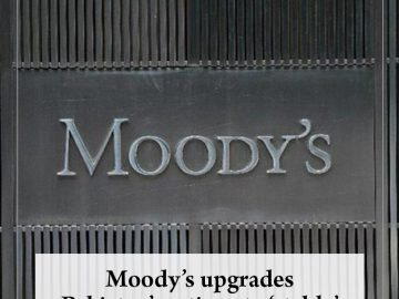 #Moody's upgrades #Pakistan's ratings to 'stable'  Read more:   #TheNews 7