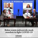 Biden called on governors of all 50 states to institute a national mask mandate ... 2