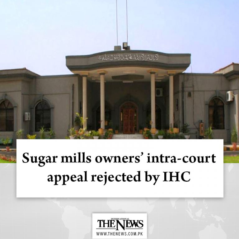The #IHC reserved its judgment on an appeal of the #SugarMillsAssociation agains... 3