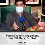 Sindh Chief Minister Murad Ali Shah on Monday said his government was willing to... 6