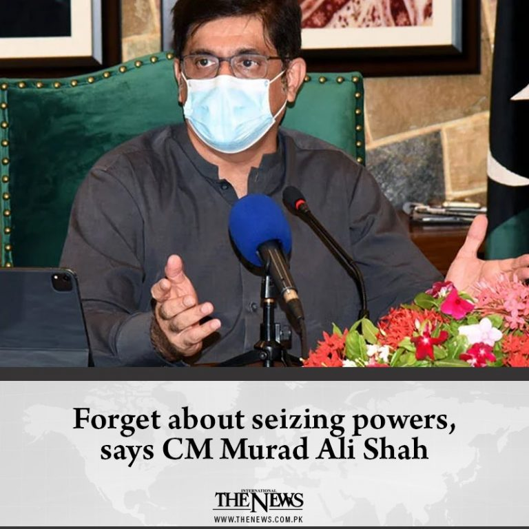 Sindh Chief Minister Murad Ali Shah on Monday said his government was willing to... 3