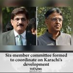 Six-member committee formed to coordinate on Karachi's development Details: #... 6