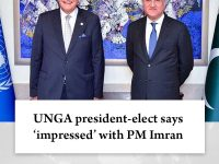 UNGA president-elect says 'impressed' with #PMImran  Details:   #TheNews 27