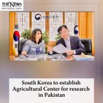 #SouthKorea to establish Agricultural Center for research in #Pakistan Read mor... 1