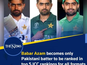 The top #batter is currently part of the #Pakistani cricket team playing against... 2