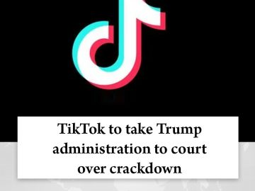 #Trump claims #TikTok could be used by #China to track locations of federal empl... 7