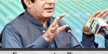 Faraz says govt mulling over policy to make price of flour uniform across countr... 28