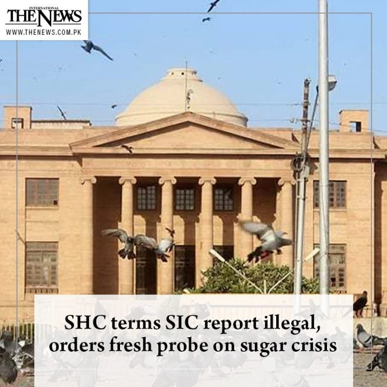 #SHC terms #SIC report illegal, orders fresh probe on sugar crisis Read more: ... 3