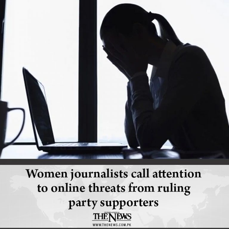 Women journalists call attention to online threats from ruling party supporters ... 3