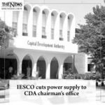 #IESCO cuts power supply to #CDA chairman's office Read more: #TheNews 2