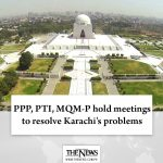 PPP, PTI, MQM-P hold meetings to resolve #Karachi's problems Watch Video: #Th... 2