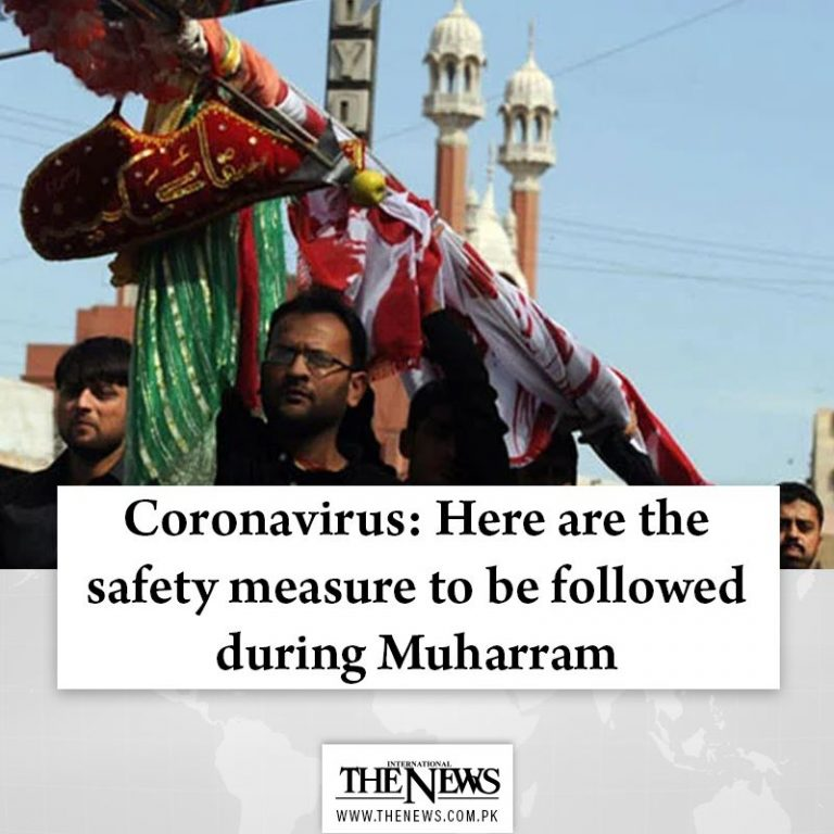 #Coronavirus: Here are the safety measure to be followed during #Muharram Read ... 3