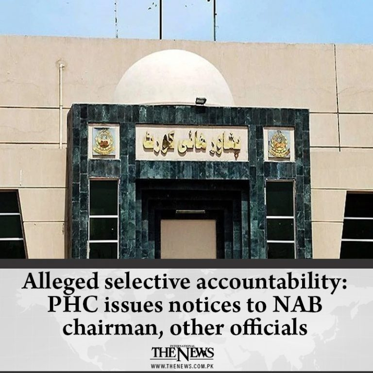 Alleged selective accountability: #PHC issues notices to #NAB chairman, other of... 3
