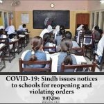 COVID-19: #Sindh issues notices to schools for reopening and violating orders D... 6