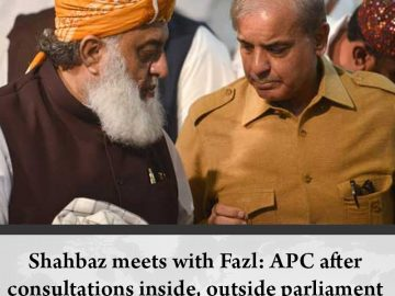 The #PMLN delegation met with the #JUIF leadership as part of consultations to d... 8
