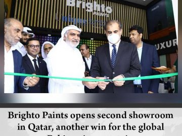 #BrightoPaints opens second showroom in #Qatar, another win for the global #Paki... 1