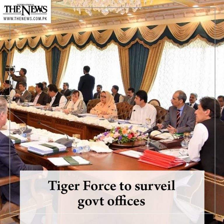 Prime Minister #ImranKhan has decided to get help from the Tiger Force for surve... 3